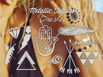 #MetallicTattoosBrushes