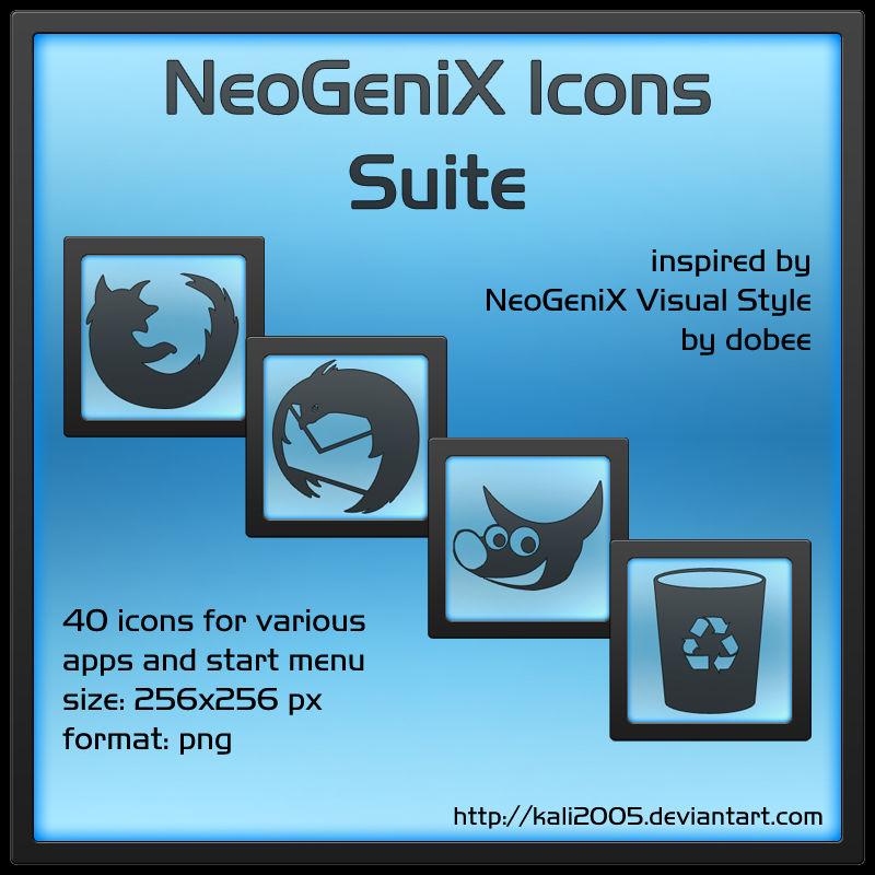 NeoGeniX Icons Suite