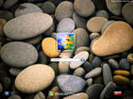 Pebbles logon screen for xp