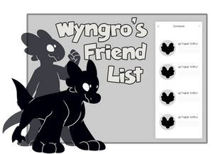 Friend List: TEMPLATE