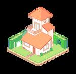 Isometric Pixel House 2
