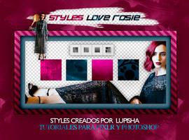 +STYLES LOVE ROSIE by LupishaGreyDesigns