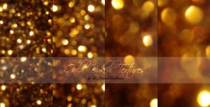 Gold Bokeh Texture Pack