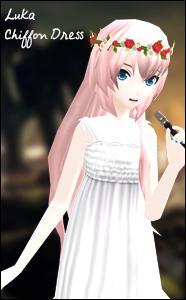 Project Diva - Luka Chiffon Dress