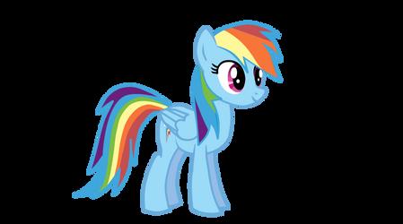 Rainbow Dash Puppet Rig for Anime Studio V1.3