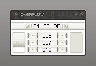 overflow by glue