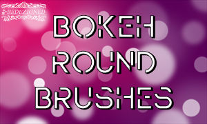 Bokeh Round Brushes