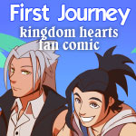 KH Comic - First Journey by rasenth