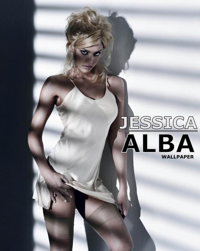 Jessica Alba - Wallpaper by DBAries