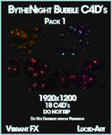 BytheNight's Bubble C4D pack 1