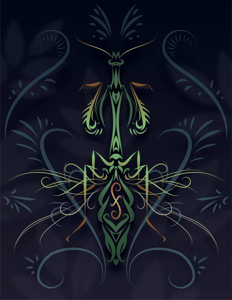 Pinstripe Mantis