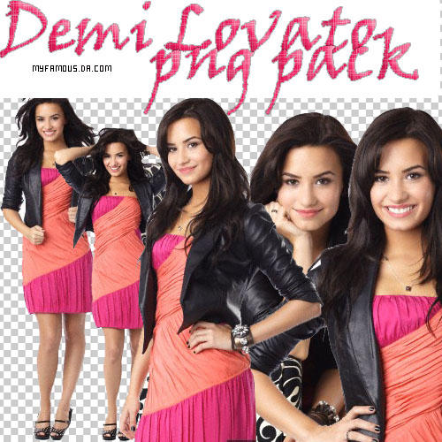 demi lovato png pack by MyFamous