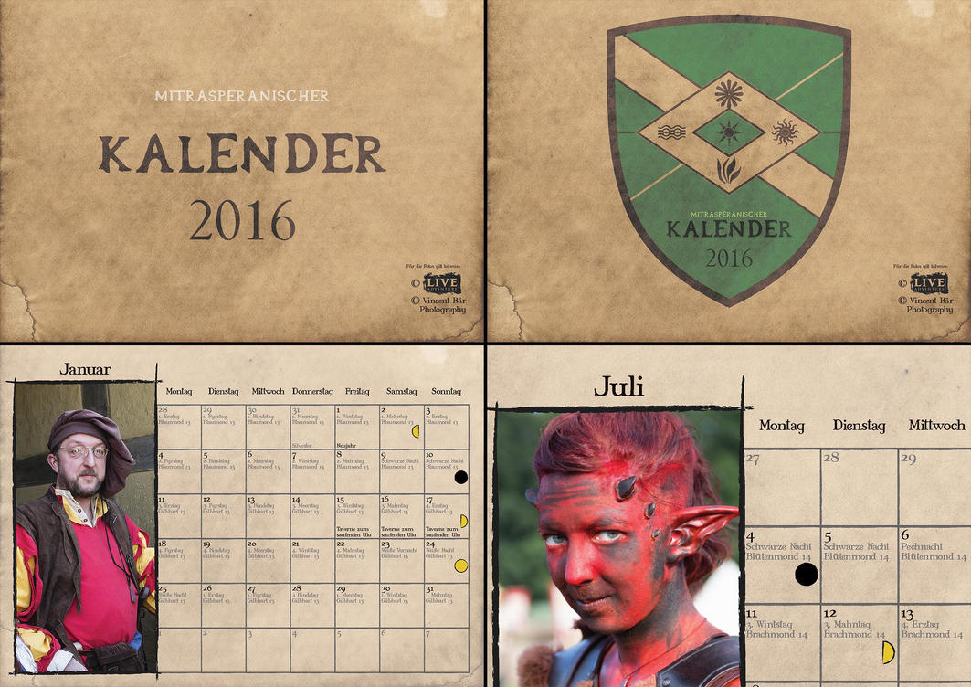 Mitrasp. Kalender 16 - Freyenmark Version by Droner