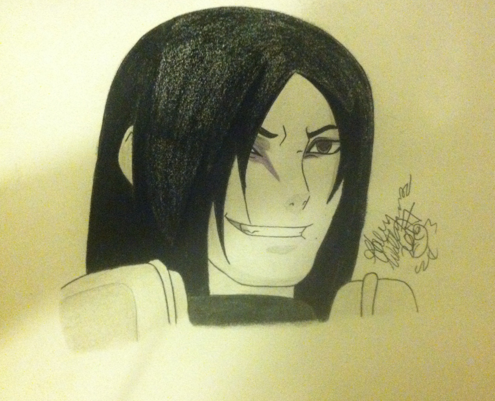 Orochimaru X Reader Lemon