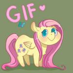 GIF: Chibi Fluttershy