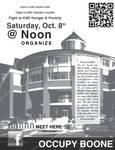 Occupy Boone: Organizing meet