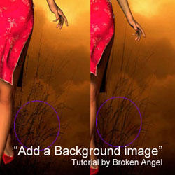 Add a Background image by poseraddicts