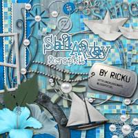 Sail Away Scrap-Kit (Freebie) by Rickulein