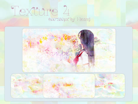 Texture*4 By Izumi