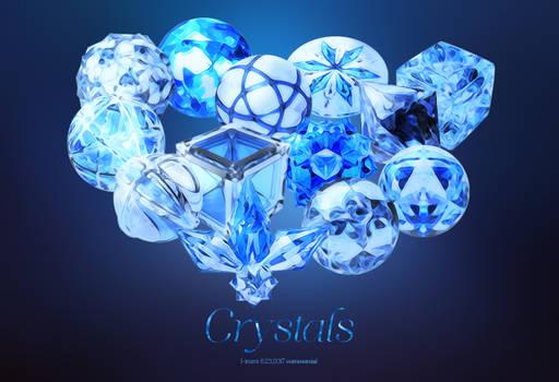 crystals psd*13