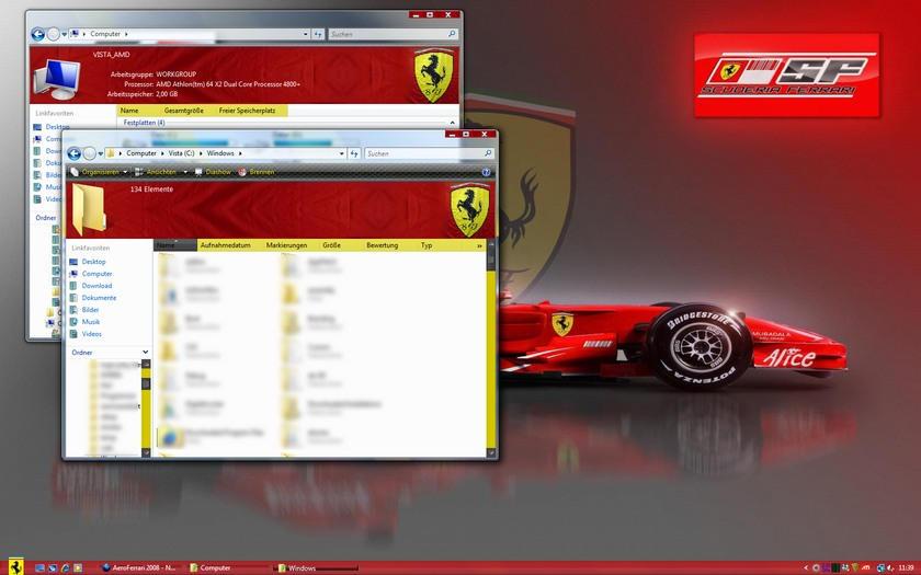 ][ اروع الثيمات للفيستا 2009 - Vista Themes 2009 ][ Aero_Ferrari_2008_by_mclaren2