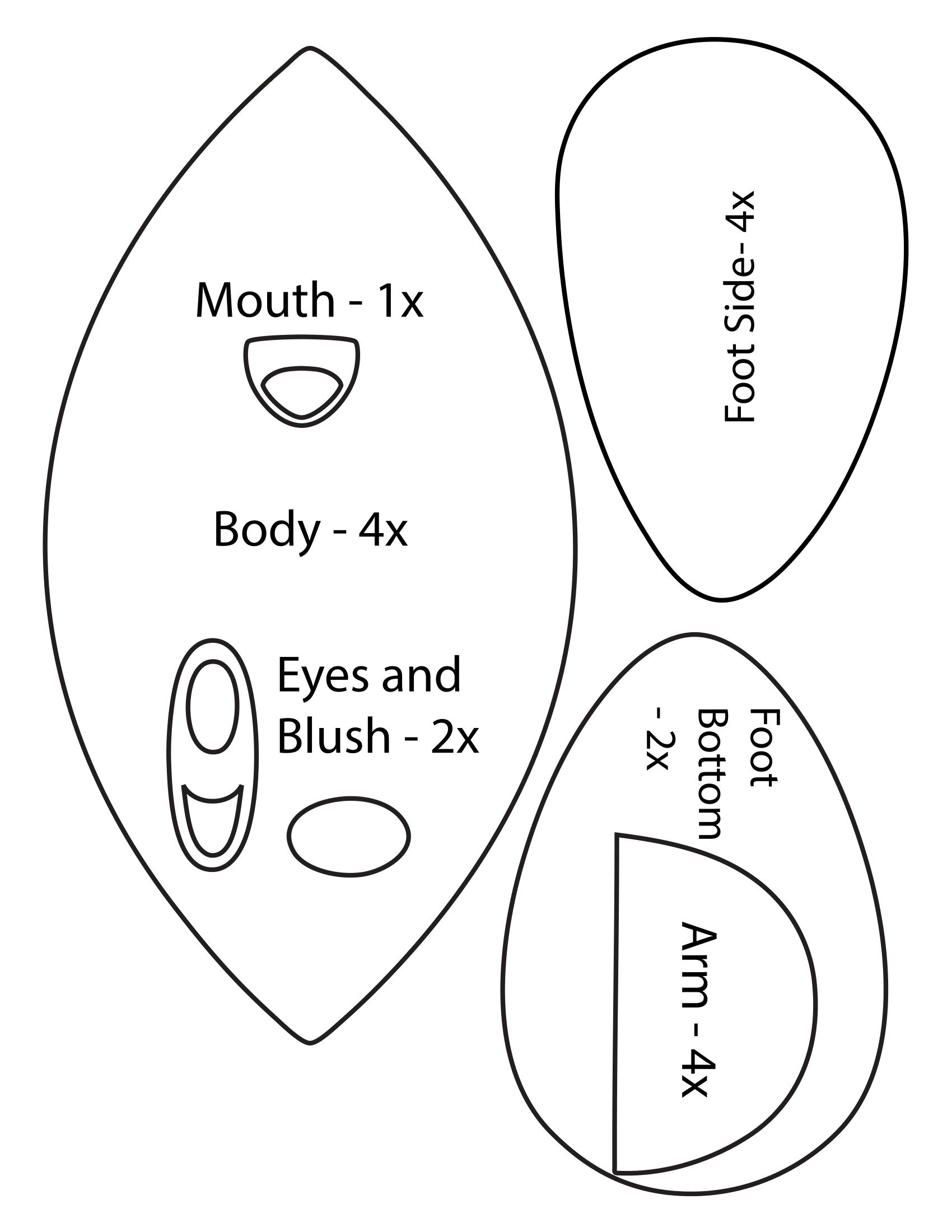 Kirby Plush Pattern by ultimatecheez