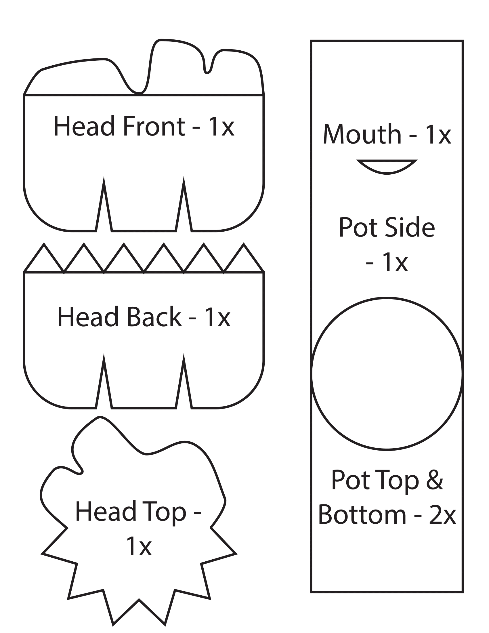 Groot Plush Pattern by ultimatecheez