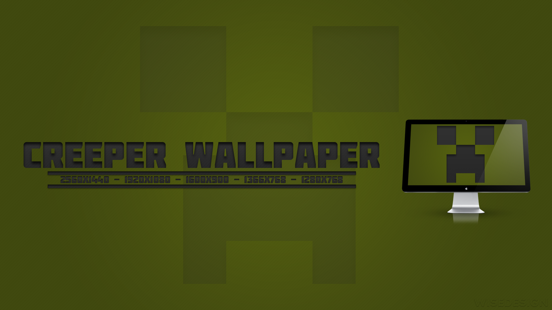 Minecraft Creeper Wallpaper By Liamwise On Deviantart