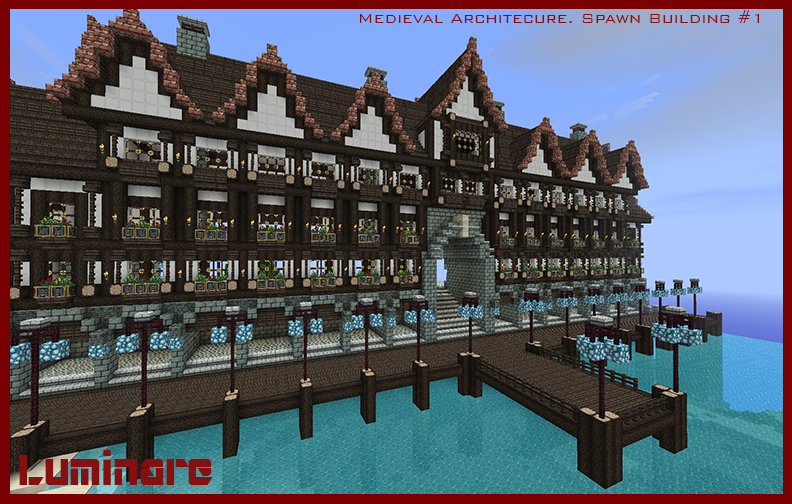 Medieval Architecture  Spawn Building #1 by X-Luminare-X on