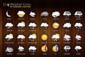 SILq Weather Icons by d3stroy