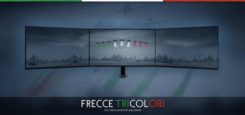 Frecce Tricolori - Triple Wallpaper