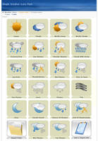 Weather Icons I by d3stroy