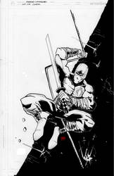 Gijoe Cover B/W by eugenecommodore