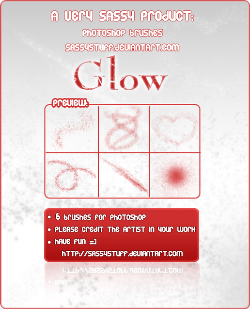 GLOW Brushes by SassyStuff