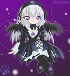 Suigintou from Rozen-maiden