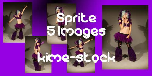 Sprite 2 by kime-stock