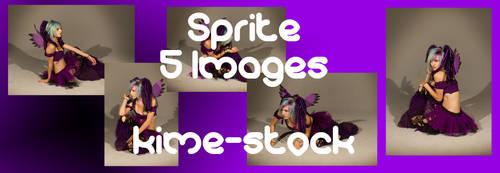 Sprite 3 by kime-stock