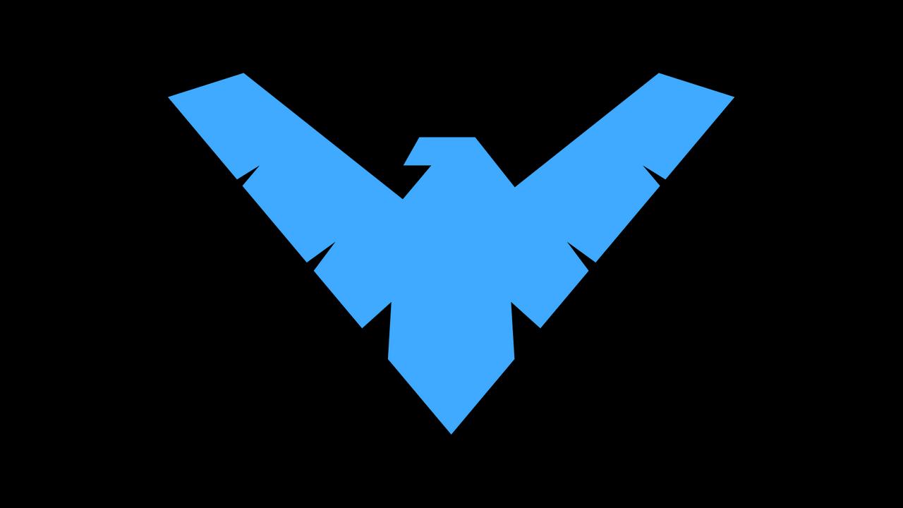 Nightwing Symbol WP by secretxax on DeviantArt