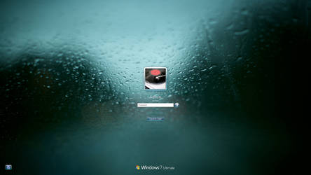 Pale Drops Logon Screen