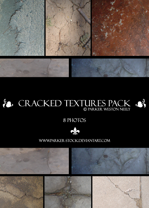 cracked textures pack