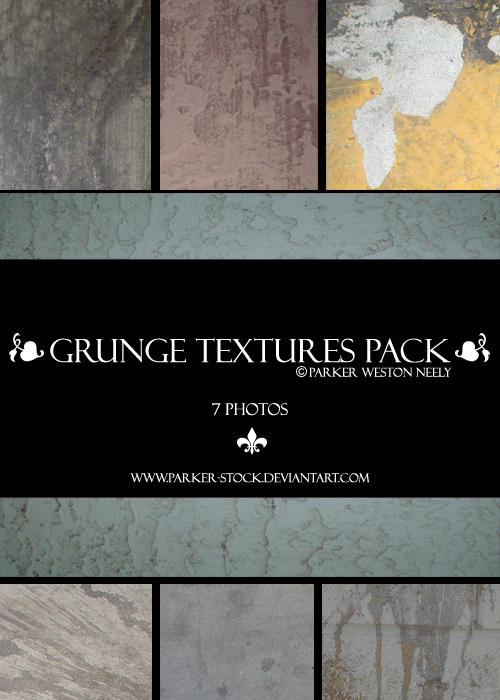 grunge textures pack by parker-stock