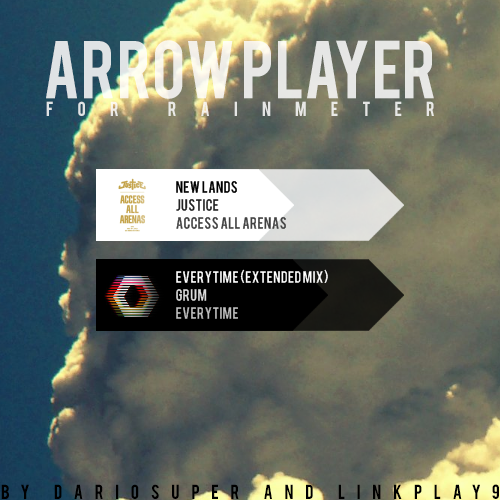 Arrow Player for Rainmeter [By Dariosuper] v1.2 by LinkPlay9