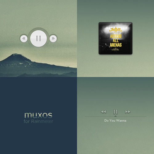 Muxos for Rainmeter [Port] by LinkPlay9
