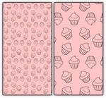 Cupcake Pattern Manga Studio and Photoshop