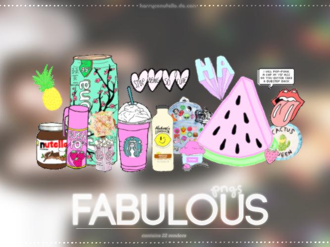Fabulous Pngs - {fckni4ll}. by harryconutella