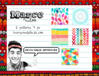 Marce Rules Patterns - {styxlik}
