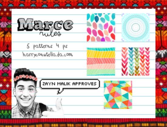 Marce Rules Patterns - {styxlik} by harryconutella