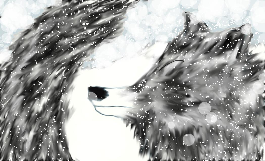 wolf on prawl by Wolfrain98