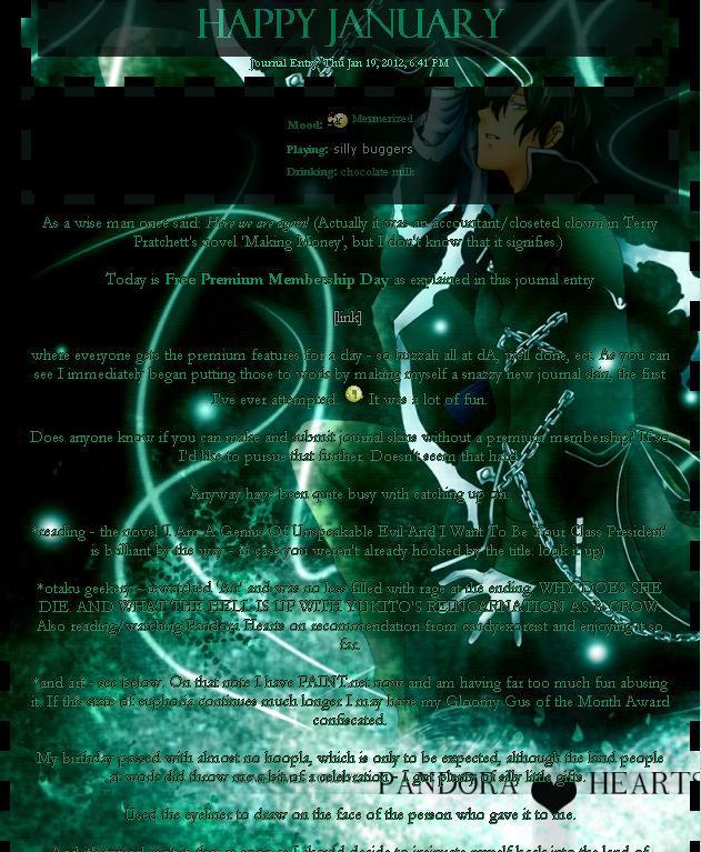 Pandora Hearts Skin: Gil by hypnopyro