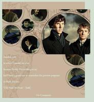 BBC Sherlock Journal Skin by hypnopyro
